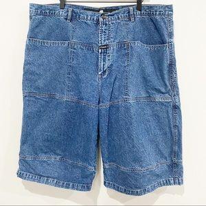 VINTAGE GIRBAUD Men's Jean Shorts, Size 44